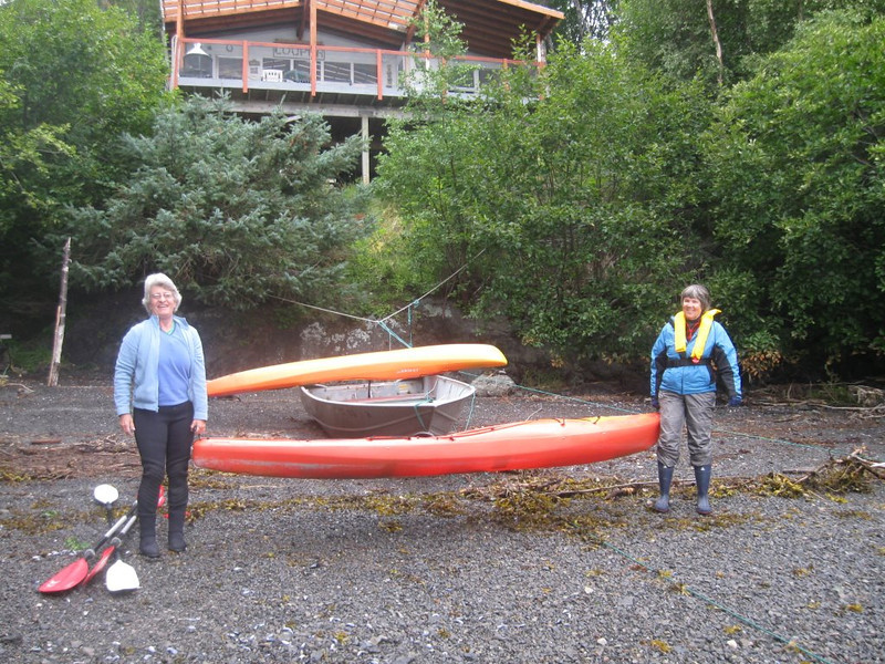 2009 Summer kayaking in Bear Cove