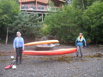 2009 Summer kayaking in Bear Cove