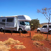Parked up in the Karijini National Park