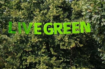 Live Green i Hoglandspark