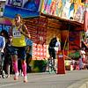 Karlskrona Stadslopp 2014 10 km. Vinnare #477  Jessie Ross Skärvad Team Hybris Täby 37:55 tiden 37:55