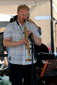 Jazz konsert på Musiktorget