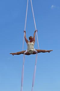 Luftakrobatik på hög nivå