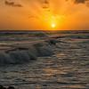 Poipu Sunset Surf