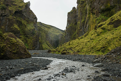 Thorsmork Canyon, Iceland