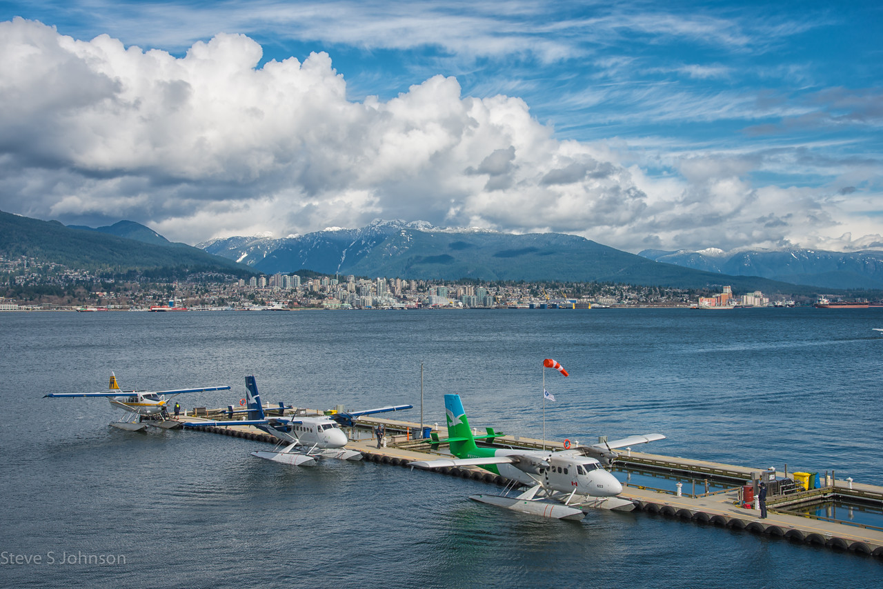 Vancouver Seawall Airport