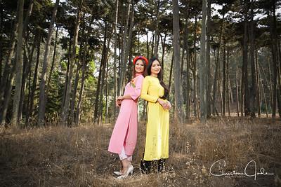 Kathelynn and Trang