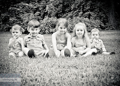 All Five bw-