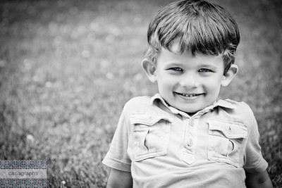 Nick's Sweet Smile bw-