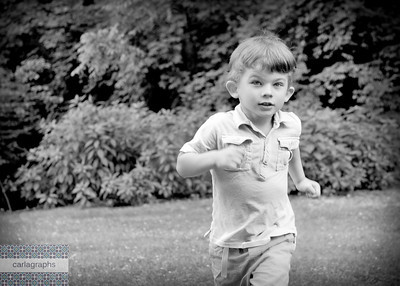 Nick on the Run bw-