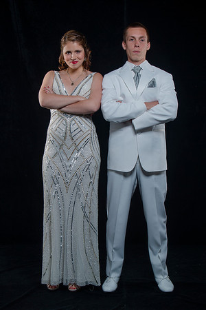 Katie and Luke prom photos May 2014