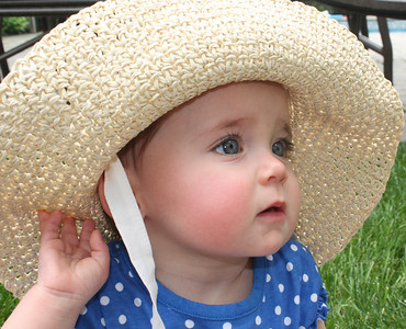 Katie in Hat  May 27, 2012