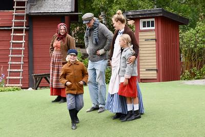 Emil, Alfred, Krösa-Maja, Ida & Lina