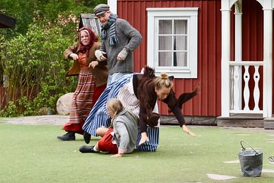 Alfred, Krösa-Maja, Ida & Lina