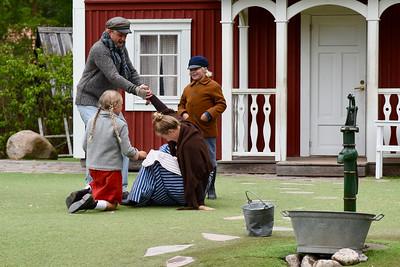 Alfred, Emil, Ida & Lina