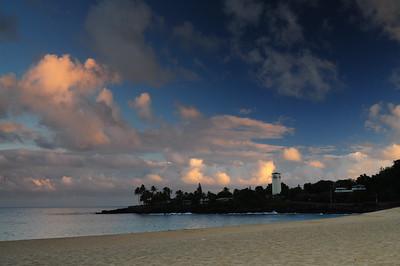Waimea bay sunrise