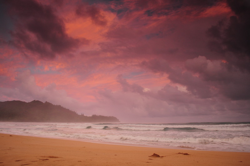 Waioli sunrise