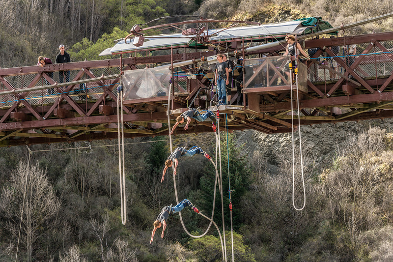Kawarau Bridge Bungee Jumping