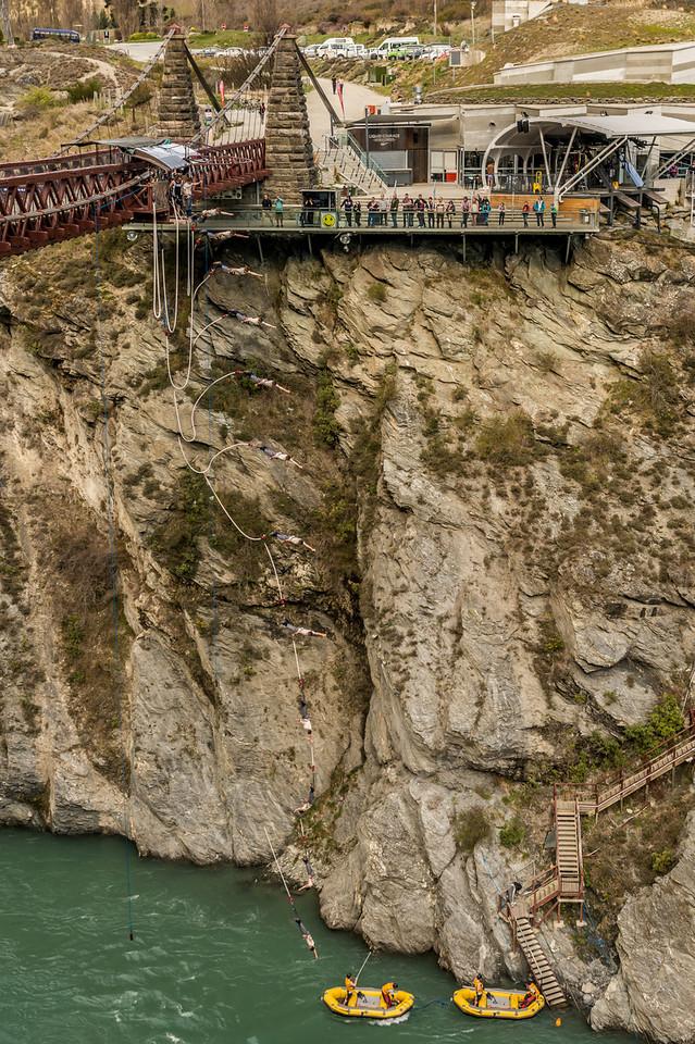 Kawarau Bridge Bungee Jumping