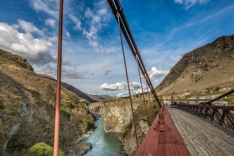 Kawarau Bridge and gorge