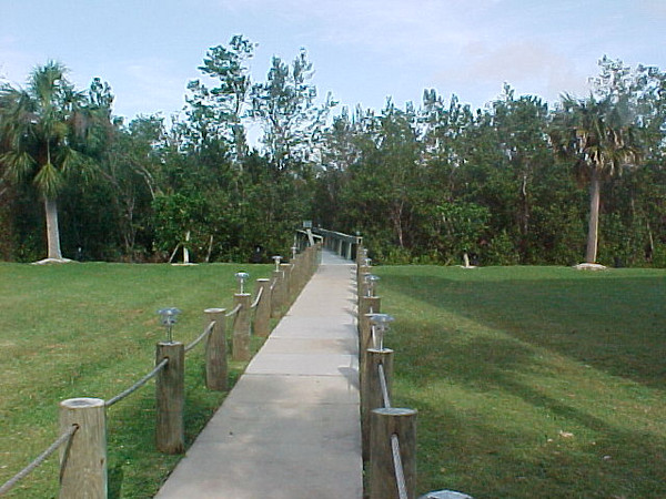 Florida Visit <br /> Path from the Condo to the Docks