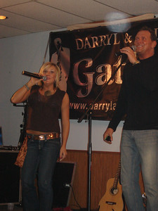 Darryl and Allie Gatlin  Darryl and Allie are our favorite entertainers. We\'ll drive for miles to see them. They are SUPER people to know and to watch entertain. Plus the music is great to dance to.
