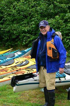Kayaking Haida Gwaii Island