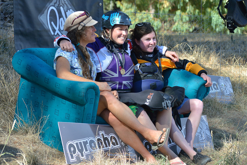 Open Women Podium: Polly Green, Claire O'Hara and Courtney Kerin