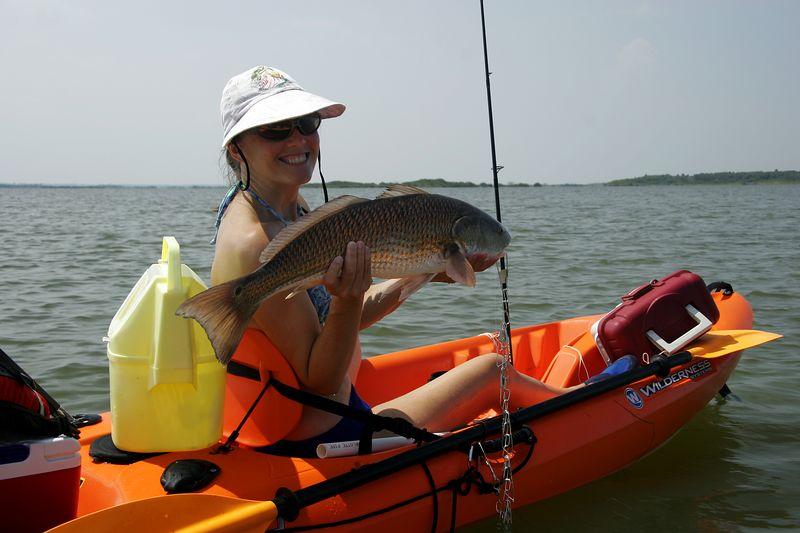 Nice catch!  Nice fish, too.