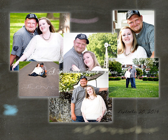 Kayla and Tyler's engagement & family pictures