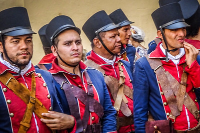 Soldiers of 1780 (taken at site of Colombian documentary)