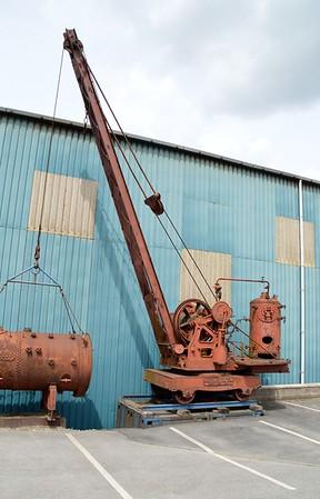 PO 8008 5t Smith Steam Crane   30/05/15