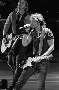 Keith Urban and Little Big Town perform at Red Rocks Amphitheatre on Aug. 30, 2013. Photos by Steve Hostetler, heyreverb.com.