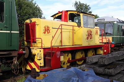 English Electric Vulcan 0-6-0DH KDR41/D1193 Keith & Dufftown Railway 25/06/11.