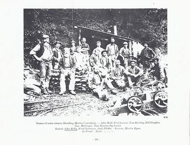 1873 John Kelly photo - Lyall miners
