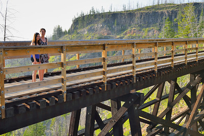 Kettle Valley Railway, Lisa & Alexis Gee