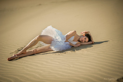 Kelsey in the Sand