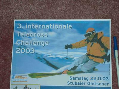 Austrian skier-cross poster
