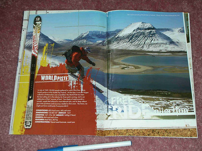 K2 ad, full-page