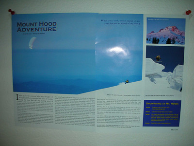 TKM Magzine, double spread full-page.