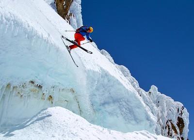 Mt. Hood crevasse
