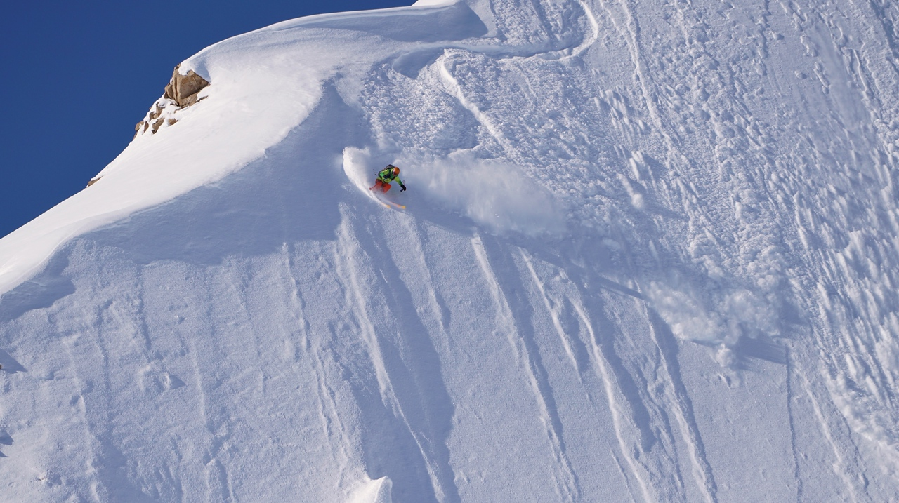Steep faces in AK.
