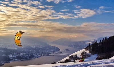 Top of the World in Columbia River Gorge