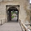 Caen - Chateau entrance