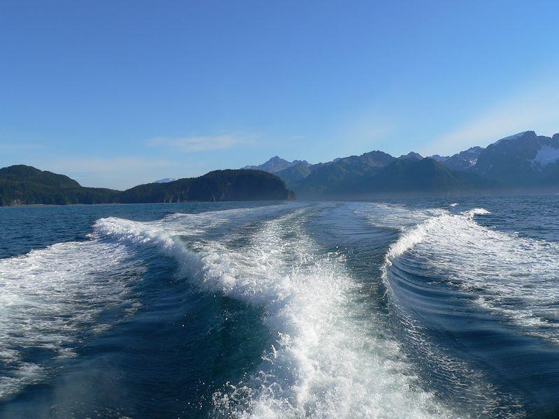 Leaving Resurrection Bay behind