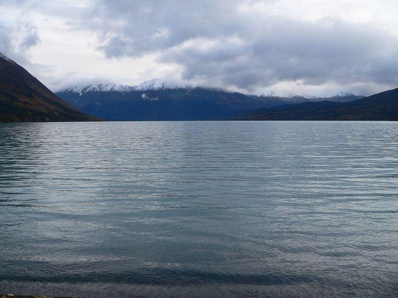 Kenai Lake from Quartz Creek Road