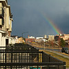 View of rainbow from my patio.