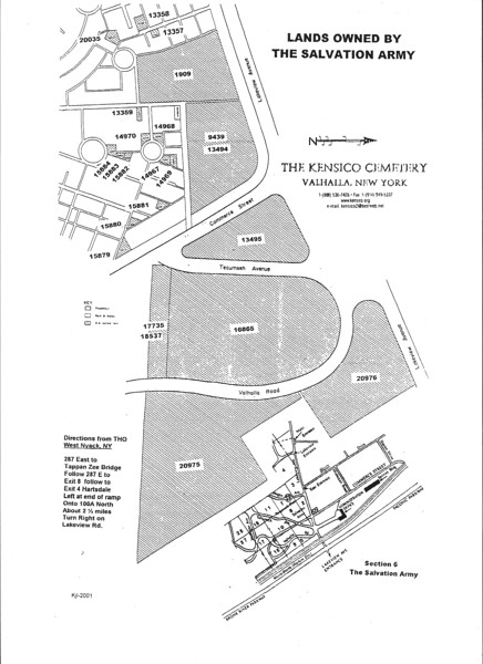 Kensico Salvation Army Layout