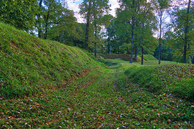 Redoubt at Fort Duffield