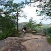 Walking to Chimney Rock.